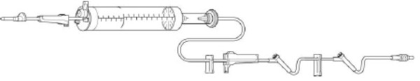 """BURETROL 60DR/ML IV SET 105"""" 48/CS"""