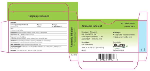 AMMONIA AMPOULE INHALANT 10CT