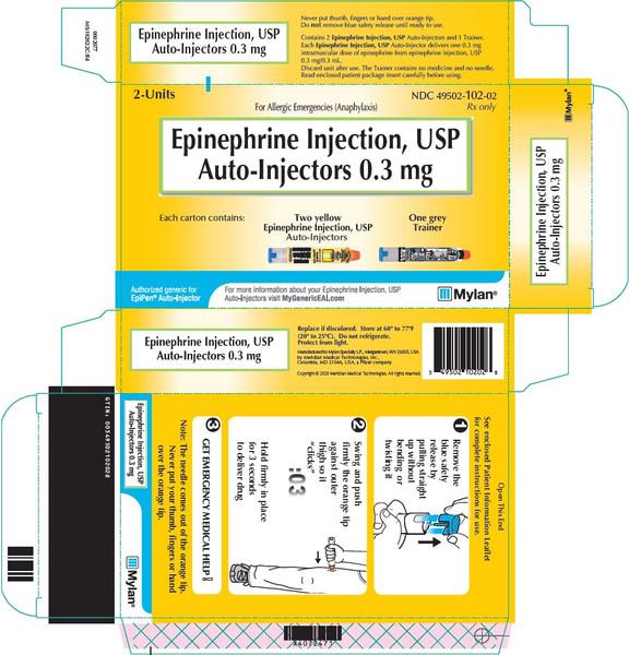 EPINEPHRINE (EPIPEN) 0.3MG AUTO INJECTOR PFS 2