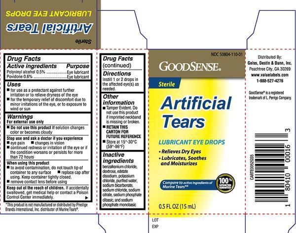 ARTIFICIAL TEAR DRP 15ML