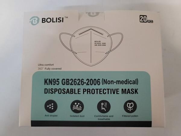 KN95 BOLISI PROTECTIVE MASK 20PK
